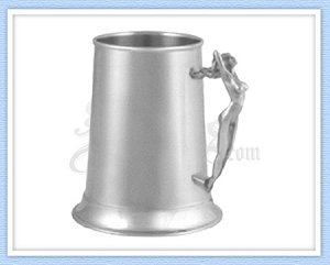 616ND - Nude Lady Tankard